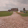 5/4/97--FT NIAGARA/ATTRACTIONS--DAN CAPPELLAZZO PHOTO--A COBBLE STONE RD. LEADS TO THE FRENCH CASTLE AT FT NIAGARA.<br /> <br /> ATTRACTIONS
