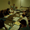 98/09/10 Loaned Associates - James Neiss Photo - United Way VP John Kinner trains Loaned Associates from area businesses during there first day orientation.