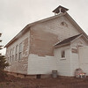 5/10/97-- school house 2-- Tak photo-- An exterior, secondary shot of School House Bulding in Wilson Historical Society.....