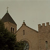 98/09/14 Niagara University - James Neiss Photo - NU Campus, church.