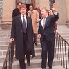 4/11/97 Donald Trump 2 - James Neiss Photo - Millionaire Donald Trump Visited Mayor Gallie for a closed door meeting at City Hall.