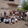 98/05/07 Prayer Day *Dennis Stierer Photo _ Local churches held a prayer gathering at City Hall plaza on Thursday at Noon.