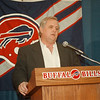 97/01/20 Wade Phillips - James Neiss Photo - Buffalo Bills Head Coach Wade Phillips introduces Doug Flutie as the new Bills QB.