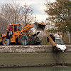 98/11/07 Stolen Car-Rachel naber photo-Medina Polie recovered a stolen car from the canal on Friday.