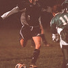 11/4/97 -- Soccer 2--Takaaki Iwabu photo-- Wilson HS Lindsay Andrasik in action.