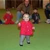 98/02/06 Winterfest 6 *Dennis Stierer photo - Eleven month old Haylee Senay went on to win in the youngest class of Indoor Baby Races.