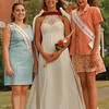 8/13/97--CAN AM WINNERS--DAN CAPPELLAZZO PHOTO--(LTOR)MICHELLE PICCIARIELLO, NF ONT PERSONALITY WINNER, COURTNEY DUNSTAN, OVERALL WINNER, AND KARA YOUNG, NF, ONT. MISS ONT. PRETEEN.<br /> <br /> FEATURE
