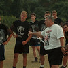 98/08/17--NW FOOTBALL--DAN CAPPELLAZZO PHOTO--NW COACH ARMOND ÒACEÓ CATTATORI (CHECK WITH SPORTS ON SPELLING) DIRECTS HIS TEAM DURING PRACTICE.<br /> <br /> ECHO