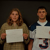 97/12/12 Goodman/Kowalik Rachel Naber Photo-Christie Goodman,Wilson Central,Soccer/Steve Kowalik,Grand Island,Football