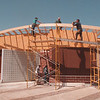 5/13/97 Art Park Gallery Store - James Neiss Photo - State Park Workers build Gallery Store.