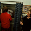 98/11/02 VOTING--DAN CAPPELLAZZO PHOTO--VOTING INSPECTOR BARBARA MARCOLINI, RIGHT, HELPS NANCY SMITH OF LKPT AT THE BOARD OF ELECTIONS WITH THE VOTING PROCESS.<br /> <br /> LOCAL