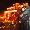 97/10/14-- Winter/Fall 1--Takaaki Iwabu photo-- A ocal family light up their house for Christmas......