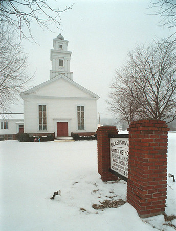 1/31/97 Dickersonville Church - James Neiss Photo - United Methodist.