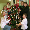 98/12/09 MAAC Tree *Dennis Stierer Photo <br /> Clockwise from lower left:  Caitlin Miller; Bryanna Steiner;  Tracey McAllister;  Lynn Woodruff;  Sue Bates;  Jason Snell.<br /> WRITE A GREAT CAPTION. I HAD NO IDEA!!!!!!!!!!!