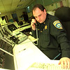 99/01/04 NCSD EMERGENCY--DAN CAPPELLAZZO PHOTO--NCSD DISPATCHER ROGER YUREK IS KEPT BUSY DUIRNG THIS TIME OF THE YEAR.