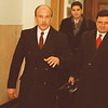 2/26/97-- P. LaPatra --Takaaki Iwabu photo-- Paul LaPatra walks away from court room Wednesday after the trail. <br /> <br /> 1a Thursday, color
