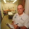 97/08/21 Robert Kilroy - James Neiss Photo - Robert Kilroy, RN at Memorial Medical.. Judy K story. Psychiatric department.