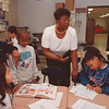 2/25/97--ABATE SCHOOL/TEACHERS--DAN CAPPELLAZZO PHOTO--ABATE SCHOOL TINA GREGORY TEACHER DIRECTS HER KIDS.<br /> **EDS NOTE: TO GO WITH STEPHENS STORY**