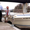 98/04/15 Orleans Marina-Rachel Naber PhotoWayne Hale (left) and Jerry Senecal (right) hope to increase public use of he Orleans County Marina which opened April 16.