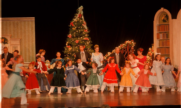 """98/12/04 Nutcracker - James Neiss Photo - The Greater Niagara Ballet Company presents """"The Nutcracker"""" at the Community Education Center at 561 Portage Rd, NF.  Here, they perform for area school children during a special matinee."""