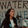 97/11/01--LOIS GIBBS/LAKES--DAN CAPPELLAZZO PHOTO--LOIS GIBBS, FORMER LOVE CANAL RES. AND ACTIVIST SPEAKS ABOUT THE CONDITIONS OF THE GREAT LAKES IN NF ONT.<br /> <br /> 1A