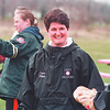 4/11/97-- new coach-- Takaaki Iwabu photo-- Dawn Filbert (double-check her first name, please), new coach for Niagara Wheatfield softball team.