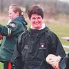 4/11/97-- new coach-- Takaaki Iwabu photo-- Dawn Filbert (double-check her first name, please), new coach for Niagara Wheatfield softball team.