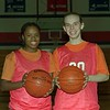 98/12/01 Medina G-Captains  *Dennis Stierer Photo<br /> Helen King and Brooke Callara
