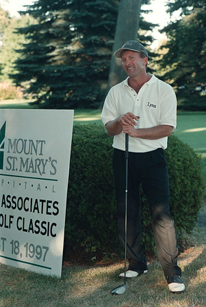 8/18/97-- Golf Tourney--Takaaki Iwabu photo-- Scott Hood won Pro-Am Golf Classic at Niagara Frontier Contry Club with score of 67. The 17th Annual tournament in Youngstown was sponsored by Mount St. Mary's Hospital Board of Associates.