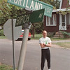 97/08/19 Cancer Cluster - James Neiss Photo - Bob Olszewski, president of C.A.P.E. Citizens Against Poisoning the Environment, stands on what he says is the street with the highest cancer problems.