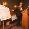 98/03/05 Tourism Meeting - James Neiss Photo - Daniel C. Murphy, President of the New York State Hospitality & Tourism Association talks about the lack of tourism growth in NYS during a town meeting with tourism trades people.