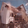 5/20/97 House Fire 2 - James Neiss Photo - Niagara Falls Fire Fighters battle a smoker at 758 16th street.
