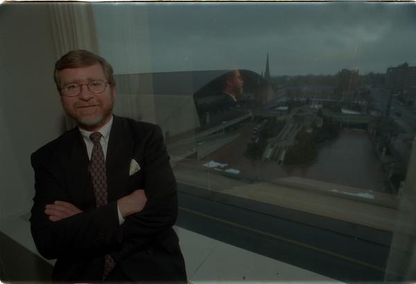 98/02/20 Brian K. Meilleur - James Neiss Photo - Brian K. Meilleur, President & CEO of the Niagara Falls Redevelopment Corp.