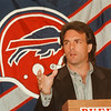97/01/20 Doug Flutie 3 - James Neiss Photo - Doug Flutie is named the new Bills QB.