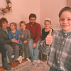 2/16/97--BOY HERO--DAN CAPPELLAZZO PHOTO--9-YR-OLD ALBERT FIOCCO GIVES THE THUMBS UP ON A SAFE AND HAPPY HOME AS HIS FAMILY LOOKS ON.( SEE ATTACHED SHEET.) ALBERT IS HAILED AS A HERO FOR HIS BRAVE ACTS DURING A RECENT AUTO ACCIDENT INVOLVING HIS FAMILY.<br /> <br /> 1A<br /> <br /> 1A