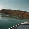 98/04/13 Fish PKG 1-Rachel Naber Photo-View of Lake Niagara's favorite fishing spots, Sand Dunes and Devil's Hole from the bow of a local fishermen's boat.