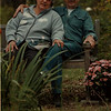 98/10/02 Cancer Wigs 3 - Vino Wong Photo - Joan and John Kilmer at the Kilmer estate on Grand Island.