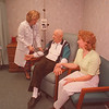 3/17/96 Oncology DeGraff - James Neiss Photo - L-R - Charmaine DeRosa, RN,  Nurse Coordinator of Oncology & Infusion Center, Leonard Krzywda of NT 692-1849 and Mary Ellen Kreutzer, Niece also from NT.