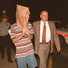 97/09/18--CHILD MOLESTER--DAN CAPPELLAZZO PHOTO--A SUSPECTED 15-YR-OLD WILDWOOD ACRES/LEASURE ACRES CHILD MOLESTER IS BROUGHT INTO TOWN OF NIAGARA COURT LATE THURSDAY EVENING.<br /> <br /> 1A NEWS