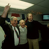 97/11/04 Council Winners - James Neiss Photo - Vince Morello, Anthony Quaranto and John Accardo celebrate their win.