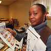 1/24/97 Ella Perry - James Neiss Photo - Ella Perry , Nutrition Teaching Assistant at the Cornell Cooperative Extension.