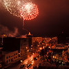 97/11/22--Festival of Light--Takaaki Iwabu photo-- Festival of Light kicked off Saturday with the display of fireworks and illumination at Lackey Plaza. <br /> <br /> color, 1A, Sunday