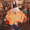1/27/97 School Reportcard - James Neiss Photo - Errick Road Elementary reading class - Clockwise from teacher are, Marge Serio, Reading teacher, Erik Kastner 7, Michael Folino 7, Steven Johnstone 8, Jerry Lasher 8 and David Lacomb 7.