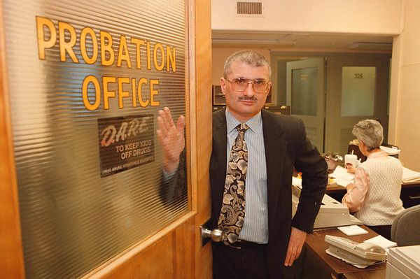 2/19/97--STATE CUTS/PROBATION--DAN CAPPELLAZZO PHOTO--DIRECTOR OF THE NIAGARA COUNTY PROBATION DEPT. N. JAMES DiCAMILLO EXPECTS STATE CUTS TO HURT THE COUNTY DEPT.<br /> <br /> 1A