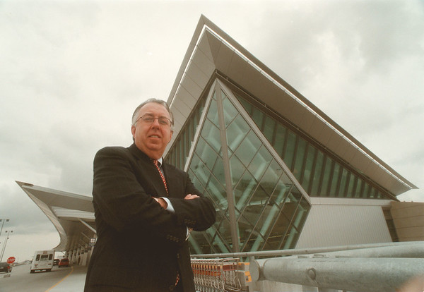 98/03/06 Airport Manager - James Neiss Photo - Robert A. Stone, Manager of the Buffalo Niagara International Airport.