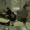 98/02/05 Maziarz's Worker's *Dennis Stierer photo - Office workers at Sen. George Maziarz's office from left they are Chris Decent,  Gina Marie Gullo, and Maureen Ormsby.