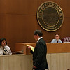 98/06/01 Mock Trial *Dennis Stierer Photo - The 7th grade class recently held a mock trial at Lockport City Court. On the witness stand is ____________________________ as defense attorney ___________________________ questions her. Presiding over the trial are judges __________________________________ and __________________________________.