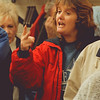 98/11/05--WILSON TOWN BOARD--DAN CAPPELLAZZO PHOTO--VILLAGE OF WILSON RESIDENT SHERRI ROATH WANTS TO KNOW WHY SHE IS PAYING TOWN AND VILLAGE TAX AT A HEATED TOWN BOARD MEETING.<br /> <br /> 1A