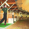 1/26/97--GOLFER--CAPPY PHOTO--MIKE JACOB, OF WHEATFIELD HITS A 5 IRON AT THE WONDER DOME AT 2609 NFB IN WHEATFIELD.<br /> <br /> ECHO-MIRROR