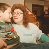 98/01/09-- Tammy Miskho --Takaaki Iwabu photo-- Tammy Miskho shares some laugh with her son Randy, 6. (for Judy's story on her and her disability son getting some quality time.... ) <br /> <br /> Sunday, color, feature